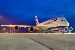 BA, British Airways, Rollout, Roll Out Paint, A380